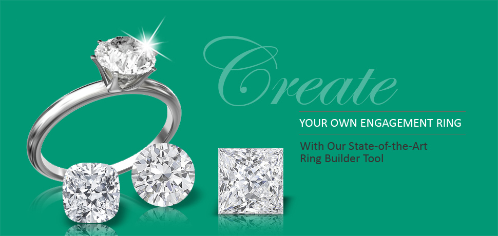 Diamond Rings And Engagement Rings. Create your own