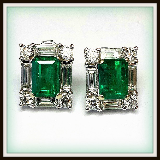 Emerald Earrings Melbourne