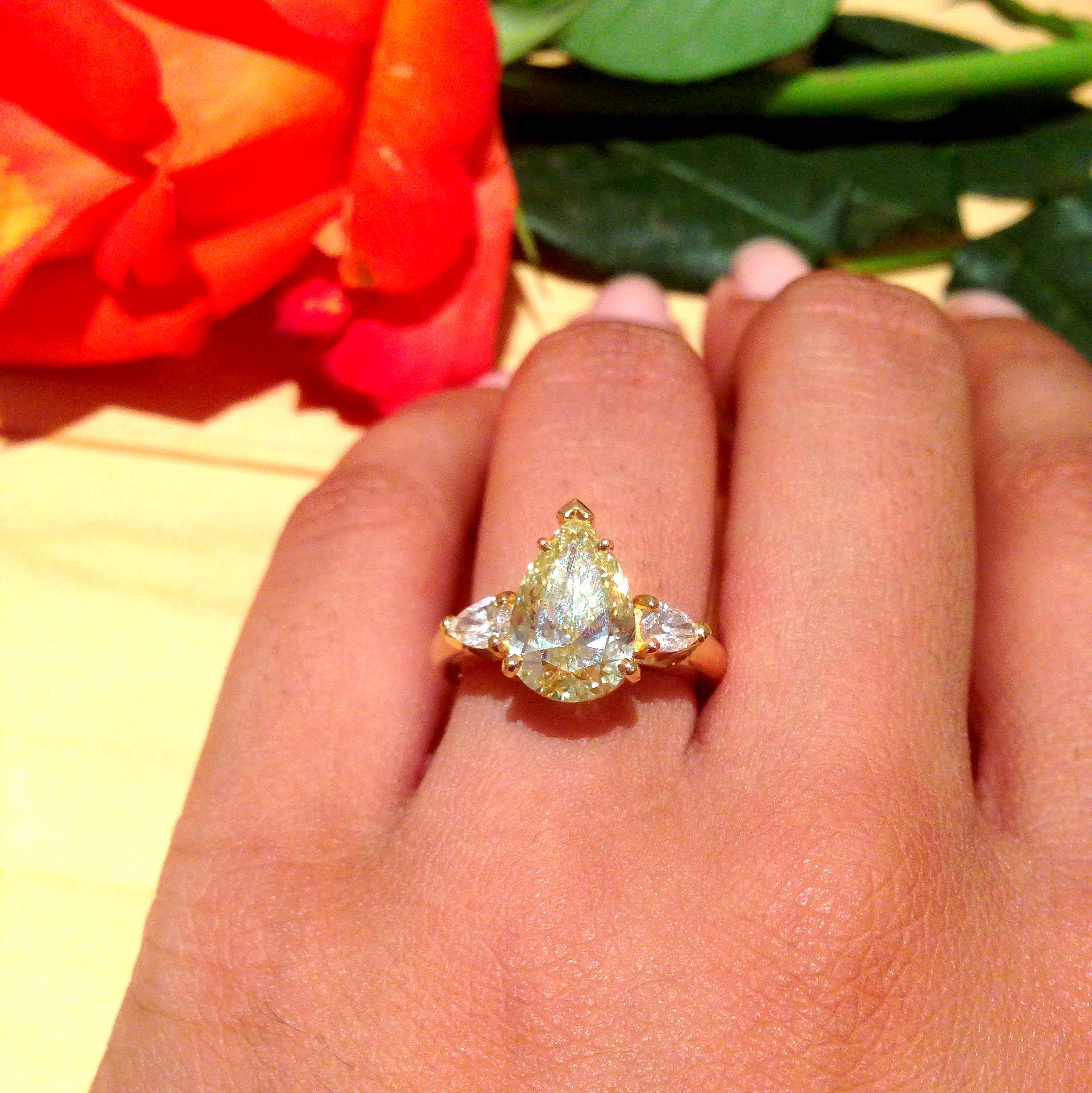 a img with new ring and engagement gold band yellow white diamond product carat beautiful